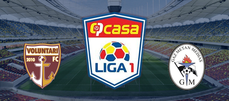 Pronostic FC Voluntari vs Gaz Metan Medias - Liga 1